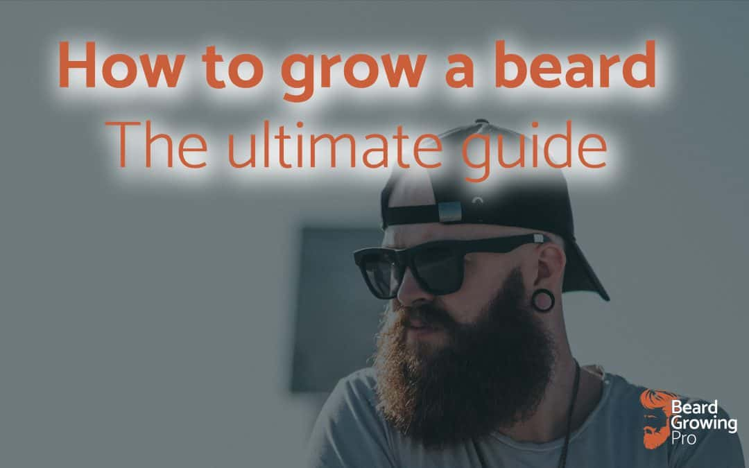 how to grow a beard - header