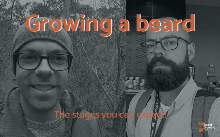 Growing a beard stages - header