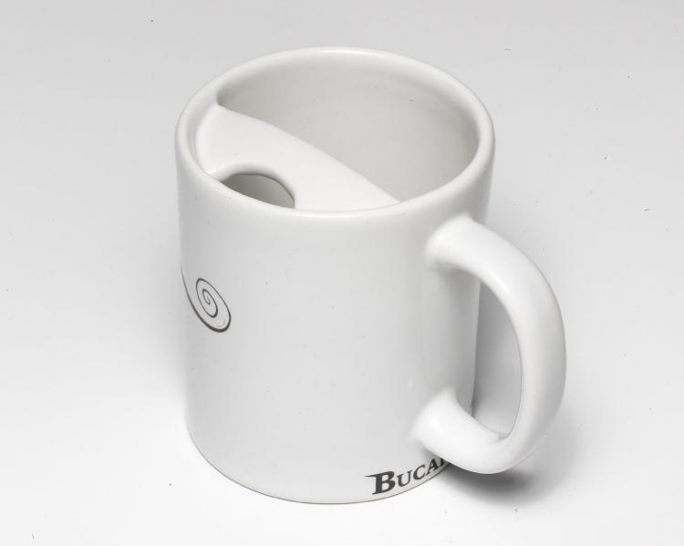 Beard Growing Tips - mug with mustache protector.