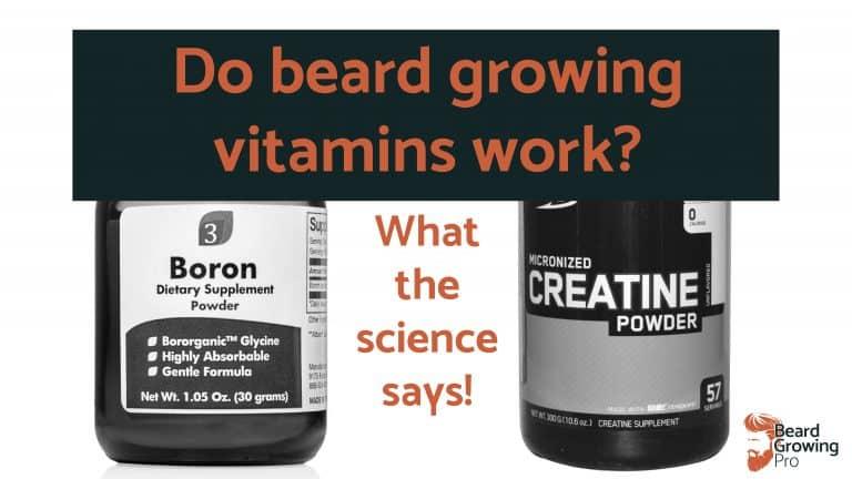 Do beard growing vitamins work - header
