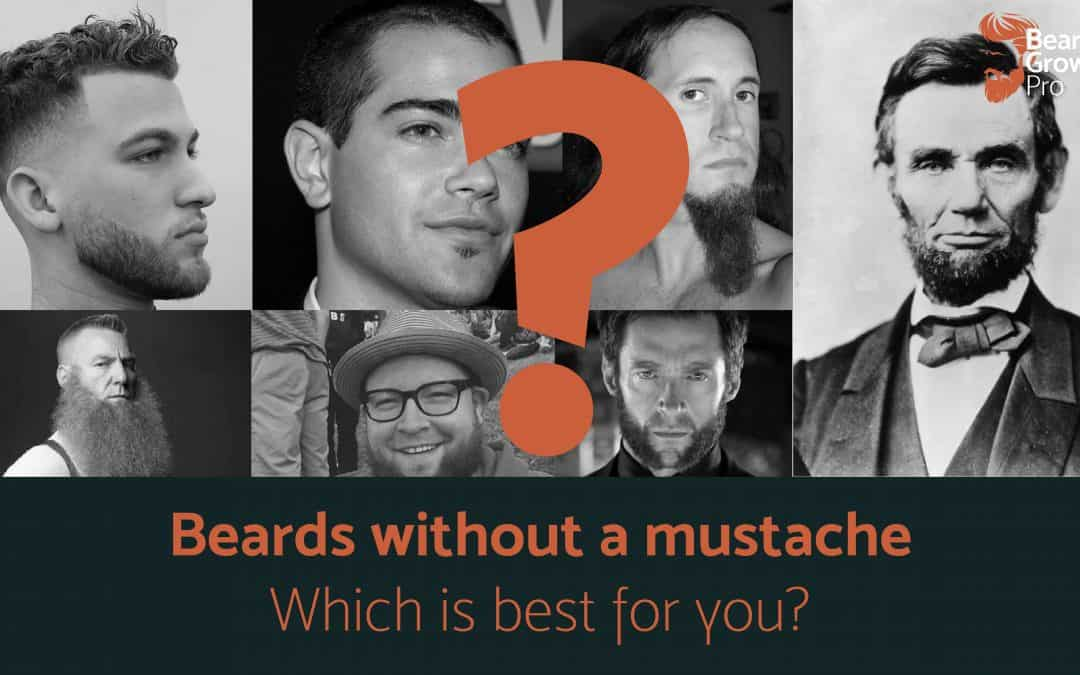The best beard without mustache? Our insider list!