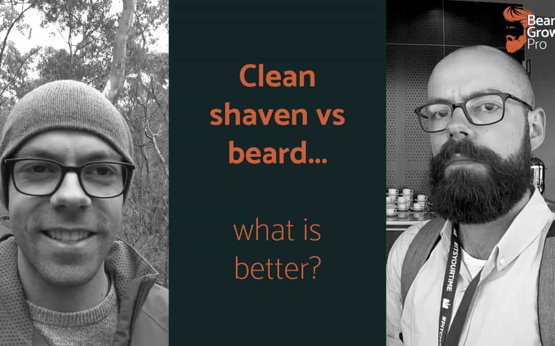 clean shaven vs beard header image