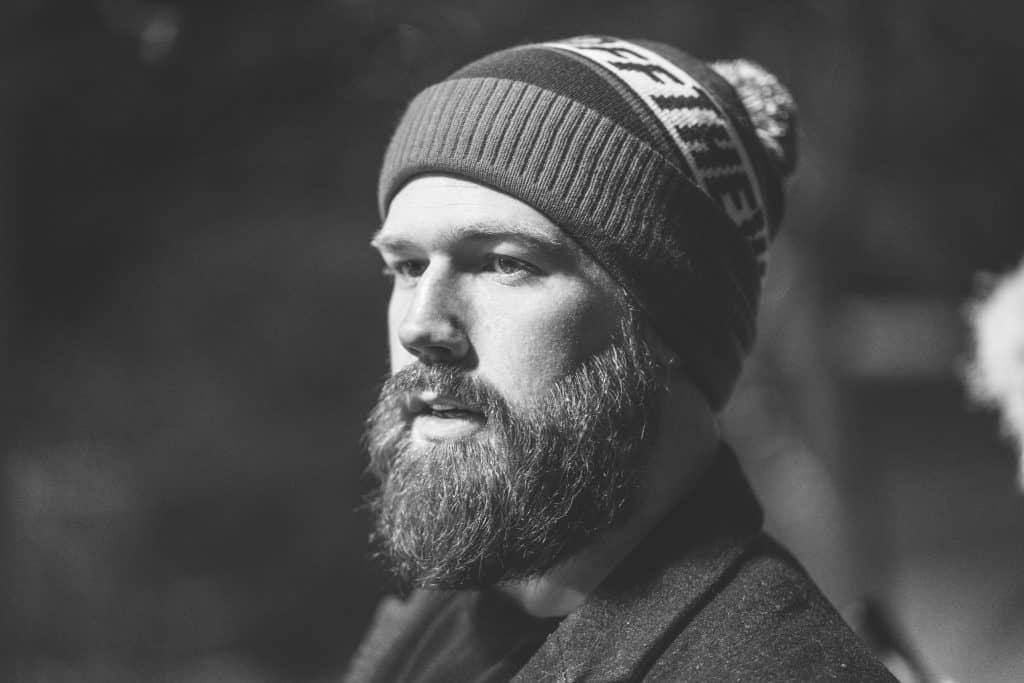 clean shaven vs beard - bearded