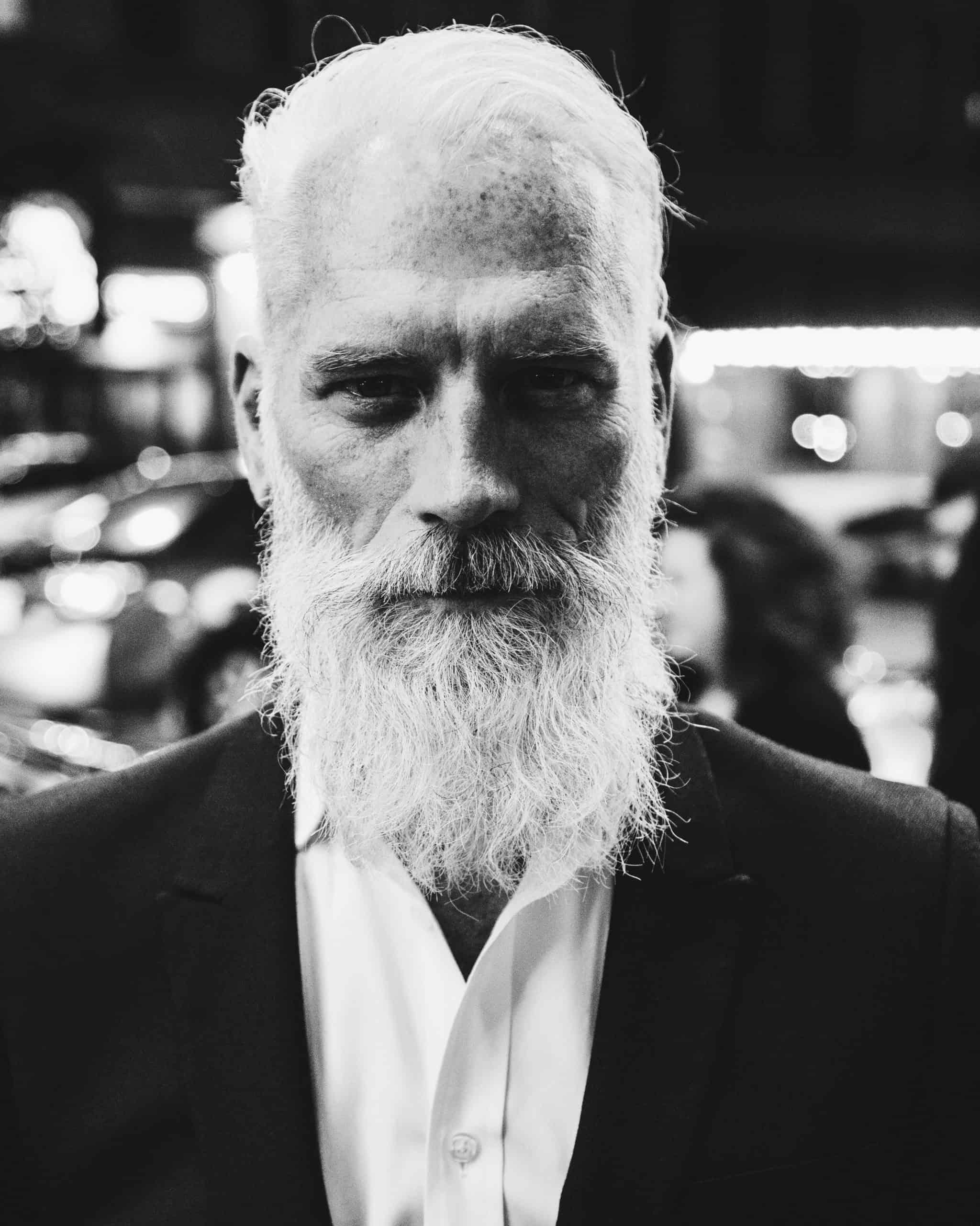 Beard growing pro - old man's beard