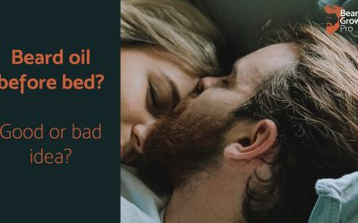 Beard oilbefore bed: is it a waste of time and money?