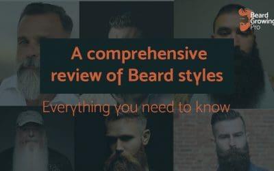 Beard styles [A comprehensive list of foundational beard styles]
