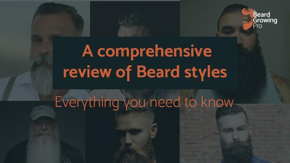 beard styles header