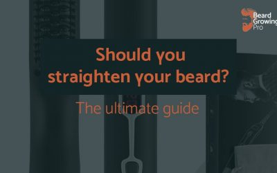Should you straighten your beard? Everything you need to know…