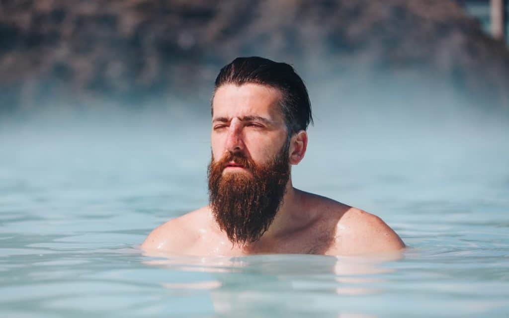 Stop beard breakage - wet hair