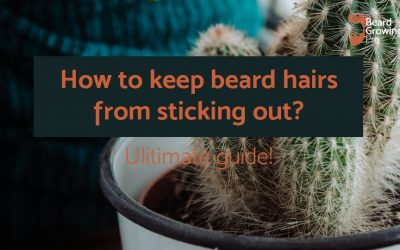 How to keep beard hairs from sticking out [Ultimate guide]