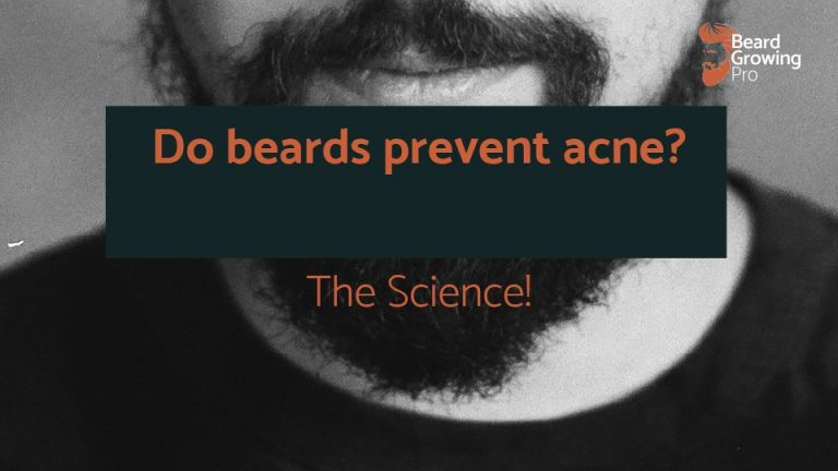 Do beards prevent acne