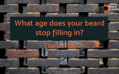 What age does your beard stop filling in? [THE DATA]