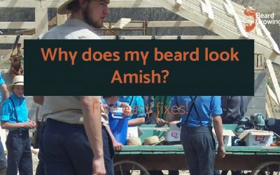 Why does my beard look Amish? Five FIXES!