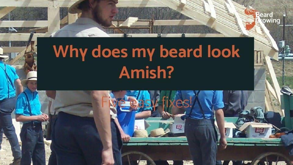 Why does my beard look Amish