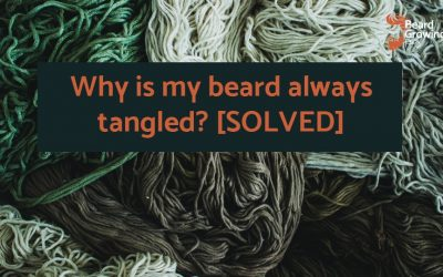 Why is my beard always tangled? [SOLVED]