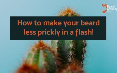 How to make your beard less prickly in a flash!