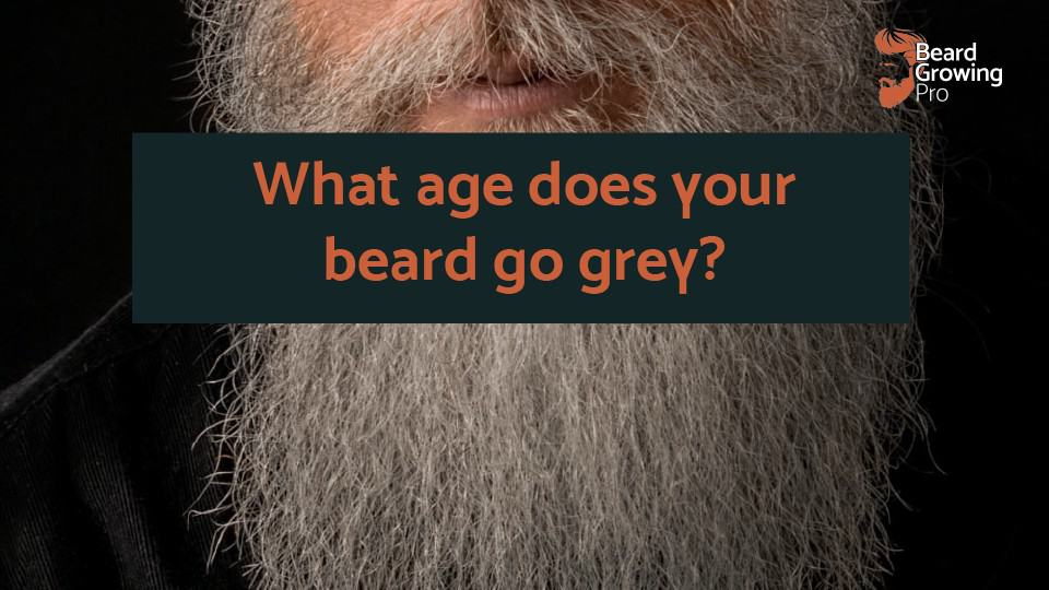 What age does your beard go grey? [SOLVED]