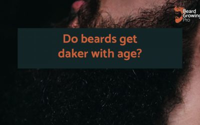 Do beards get darker with age?