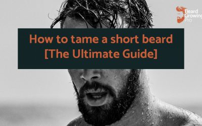 How to tame a short beard [The Ultimate Guide]