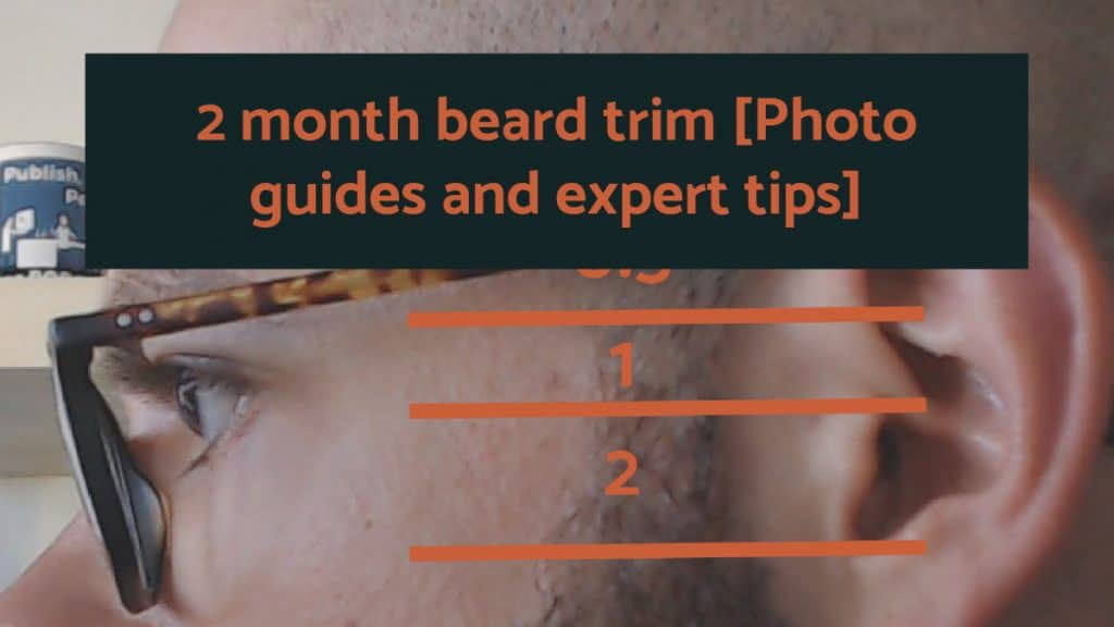 2 month beard trim