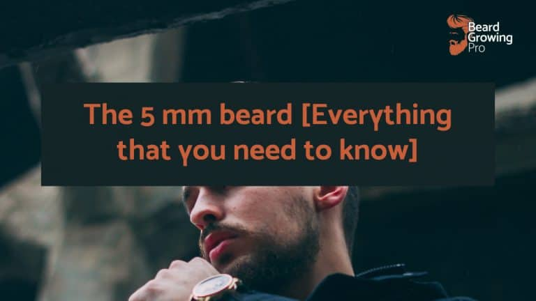 5mm beard
