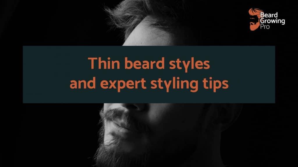 thin beard styles