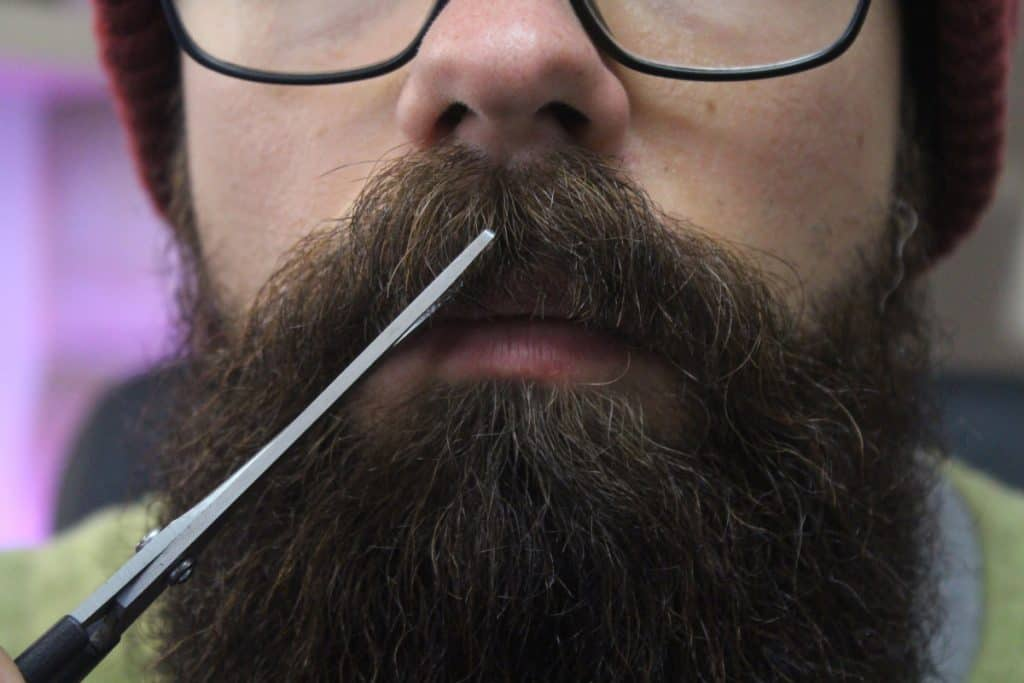 Should You Shave The Middle Of Your Mustache