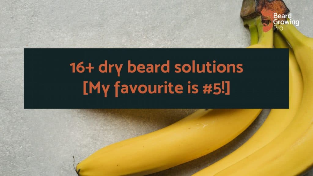 dry beard solutions