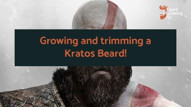 Kratos Beard [How to grow, trim and maintain]